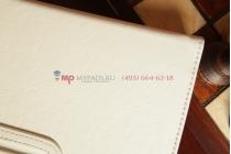 Чехол для Acer Iconia Tab A1-811 белый кожаный