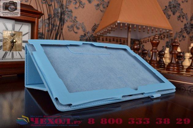 Чехол для Acer Iconia Tab A3-A30/A31 синий кожаный