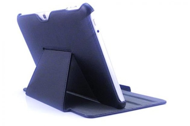 Чехол для Acer Iconia Tab A510/A511 БЕЛЫЙ кожаный янтарный