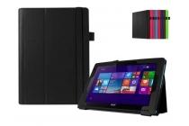 Чехол для Acer Aspire Switch 10 E SW3-013 / 12TJ/1812 10.1 черный кожаный