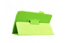 "Чехол для Acer Iconia One 7 B1-770 (K75V / NT.LBKEE.002 / K057) 7.0"" зеленый кожаный"