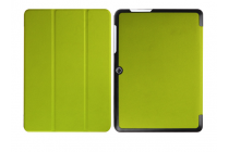 """Фирменный умный тонкий чехол для Acer Iconia One B3-A20 10.1"""" """"Il Sottile"""" зеленый пластиковый"""