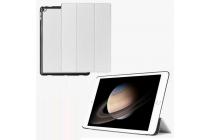 """Фирменный умный чехол-книжка самый тонкий в мире для iPad Pro 12.9""""  """"Il Sottile"""" белый кожаный"""