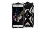 """Противоударный усиленный ударопрочный фирменный чехол-бампер на металлической основе для iPhone 7 4.7""""/ iPhone 8 черного цвета"""