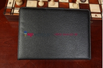 Фирменный чехол со съёмной Bluetooth-клавиатурой для iPad Air 1 черный кожаный + гарантия