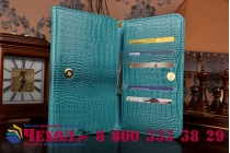Фирменный роскошный эксклюзивный чехол-клатч/портмоне/сумочка/кошелек из лаковой кожи крокодила для планшетов iPad Air 1. Только в нашем магазине. Количество ограничено.