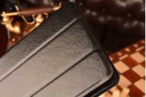 Чехол с вырезом под камеру для планшета Acer Iconia One B1-810  с дизайном Smart Cover ультратонкий и лёгкий. цвет в ассортименте