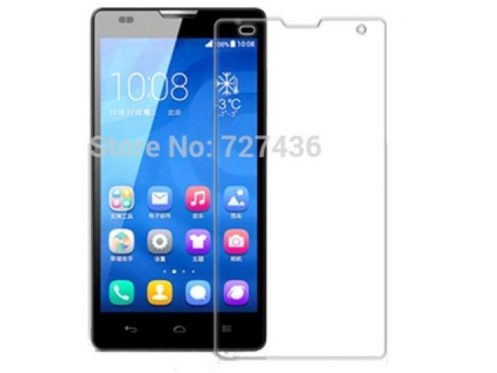 Фирменная оригинальная защитная пленка для телефона  Huawei G628  глянцевая..