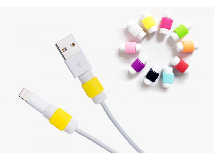 Фирменный кабельный зажим противоизносный для защиты кабеля от перегиба (в комплекте 2шт.)