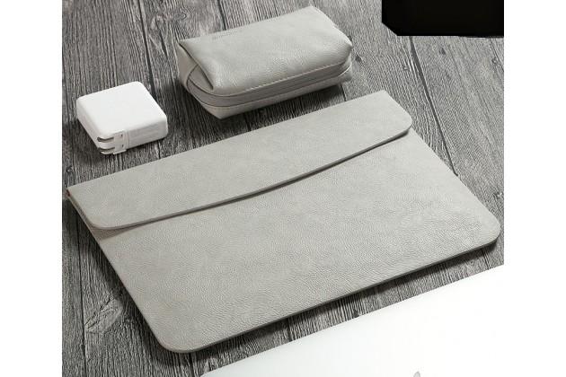 Фирменный оригинальный чехол-клатч для Apple MacBook Air 11 Early 2015 (MJVM2/ MJVP2) 11.6 / Apple MacBook Air 11 Early 2014 ( MD711 / MD712) 11.6 из качественной импортной кожи в комплекте с сумочкой для беспроводной мыши