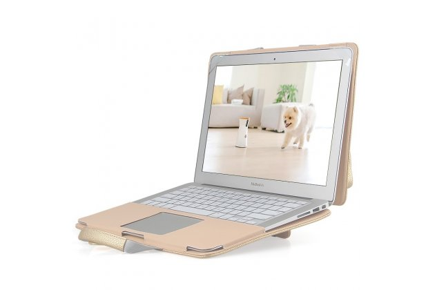 Фирменный оригинальный чехол-сумка для Apple MacBook Air 11 Early 2015 (MJVM2/ MJVP2) 11.6 / Apple MacBook Air 11 Early 2014 ( MD711 / MD712) 11.6 с отделением под клавиатуру и отделением для дополнительных аксессуаров кожаный. Цвет в ассортименте.