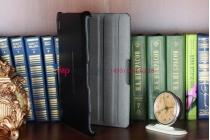 Чехол для Acer Iconia Tab A200/A210 черный кожаный №2