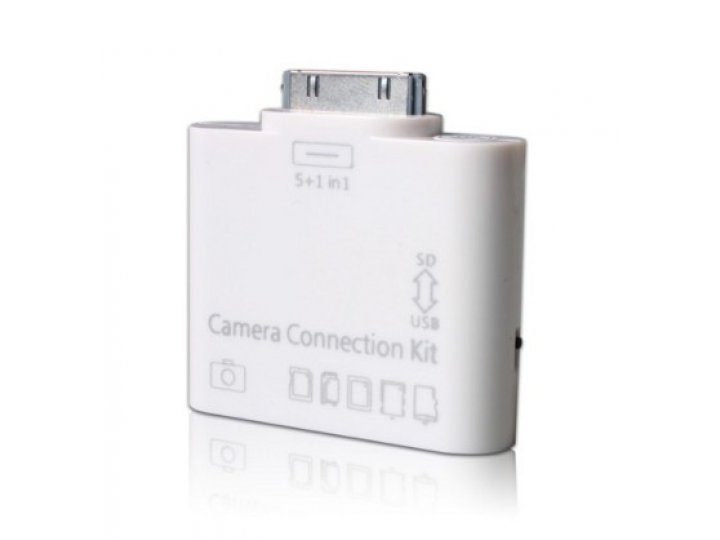 USB переходник + разъем для карт памяти для Apple iPad 2,3..