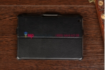 """Чехол для iPad Mini черный кожаный """"Deluxe"""""""